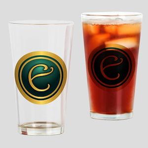 Irish Luck E Drinking Glass