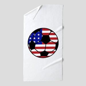 USA Soccer Beach Towel