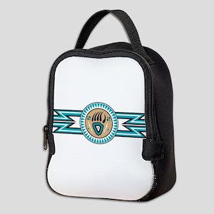 bear track Neoprene Lunch Bag