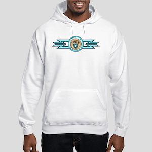 bear track Hooded Sweatshirt