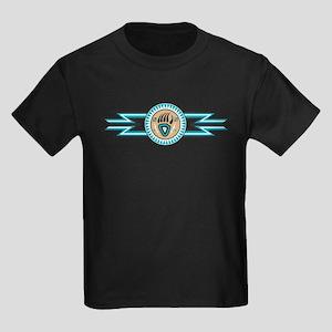 bear track Kids Dark T-Shirt