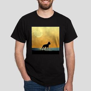 Boston Terrier Surfside Sunset T-Shirt