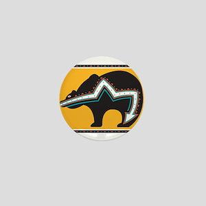 Indian Bear Mini Button