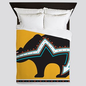 Indian Bear Queen Duvet