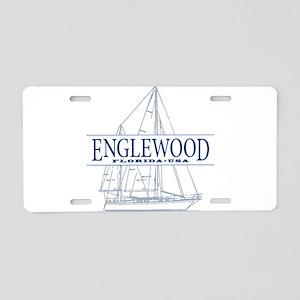 Englewood - Aluminum License Plate