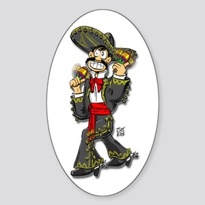 """THAT MEXICAN GUY"" Sticker (Oval)"