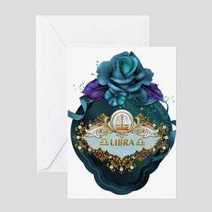 Libra Greeting Cards