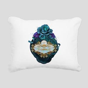 Libra Rectangular Canvas Pillow