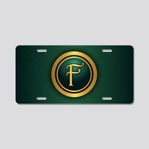 Irish Luck F Aluminum License Plate