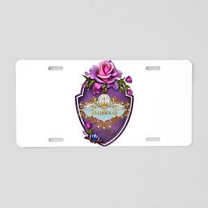 Libra Aluminum License Plate