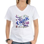 Funk Women's V-Neck T-Shirt