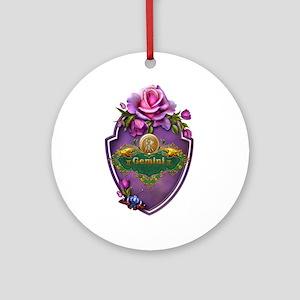 Gemini Ornament (Round)