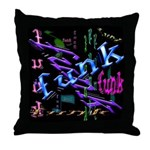 Funk Throw Pillow