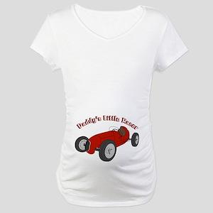 Sprint Car Daddy's Racer Maternity T-Shirt
