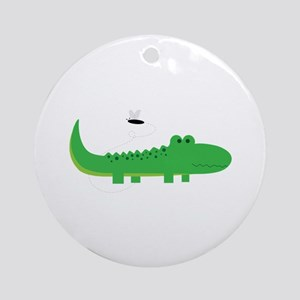 Alligator Ornament (Round)