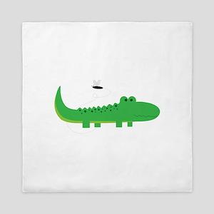 Alligator Queen Duvet