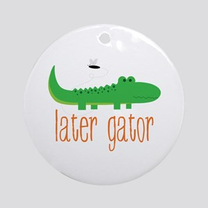 Later Gator Ornament (Round)