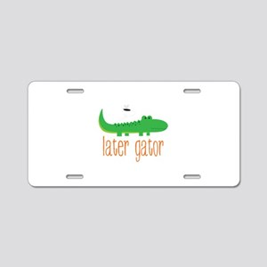 Later Gator Aluminum License Plate