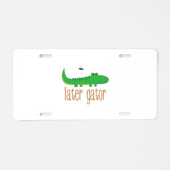 Later Gator Aluminum License Plate