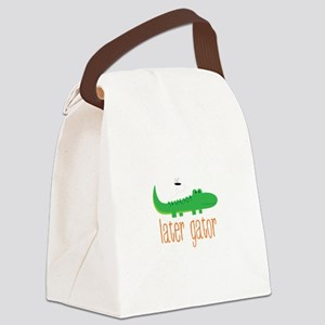 Later Gator Canvas Lunch Bag