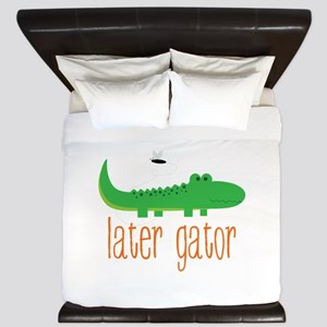 Later Gator King Duvet