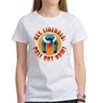 Anti liberal Pull Out Now Women's T-Shirt