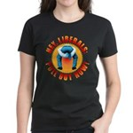 Anti liberal Pull Out Now Women's Dark T-Shirt