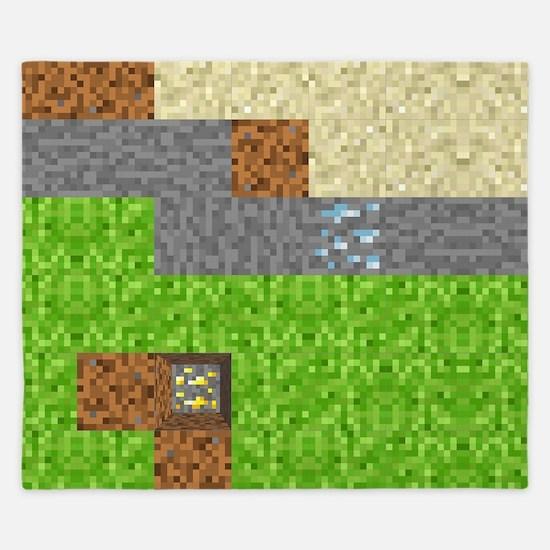 Pixel Art Play Mat King Duvet