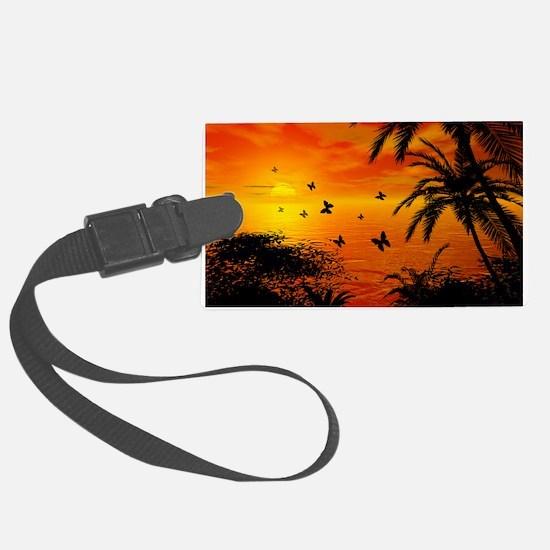 Sunset Luggage Tag