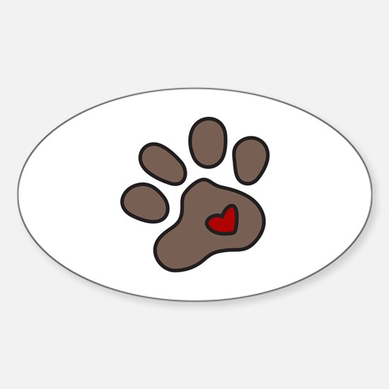 Puppy Paw Decal