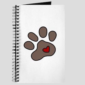 Puppy Paw Journal