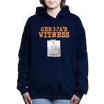 Genovas Witness Women's Hooded Sweatshirt
