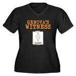 Genovas Witness Plus Size T-Shirt