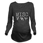 Misc Long Sleeve Maternity T-Shirt