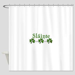 Slainte Shower Curtain