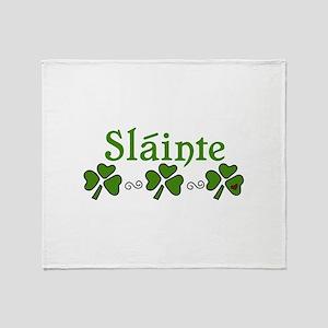 Slainte Throw Blanket