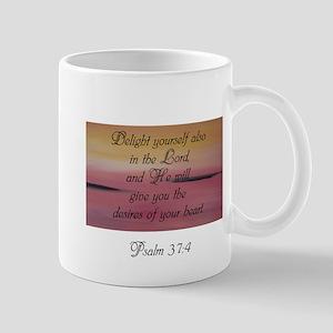 Psalm 37:4 Mugs