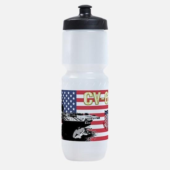 CV-61 USS Ranger Sports Bottle
