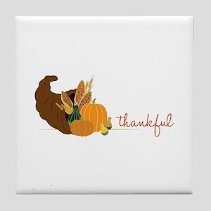 Thankful Tile Coaster