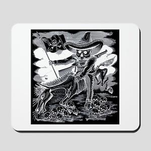 Calavera Zapatista - Zapata Mousepad