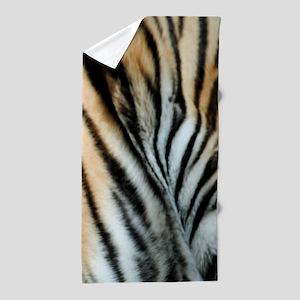 Tiger 02 Beach Towel