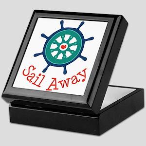Sail Away Keepsake Box