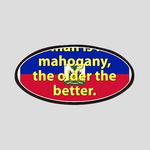 Woman Is Like Mahogany Patch