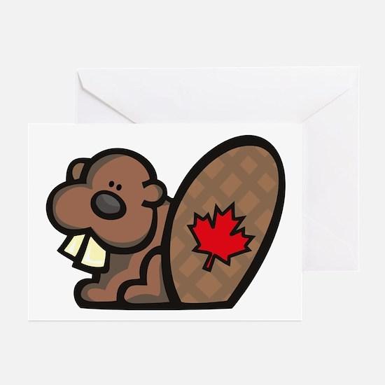 Canada Beaver Greeting Cards (Pk of 10)