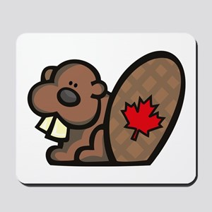 Canada Beaver Mousepad