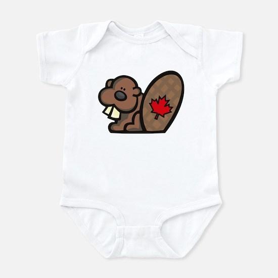 Canada Beaver Infant Bodysuit