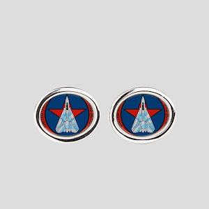nsawclogo03 Oval Cufflinks