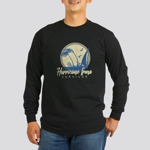 Hurricane Irma Survivor Long Sleeve T-Shirt