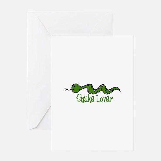 Snake Lover Greeting Cards