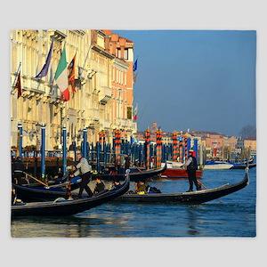 Venetian gondoliers King Duvet
